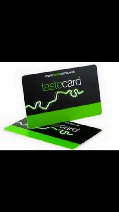 Welcome Tastecard London